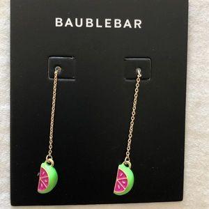 Watermelon dangling earrings